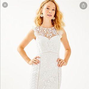 Maya shift white Lilly Pulitzer Dress